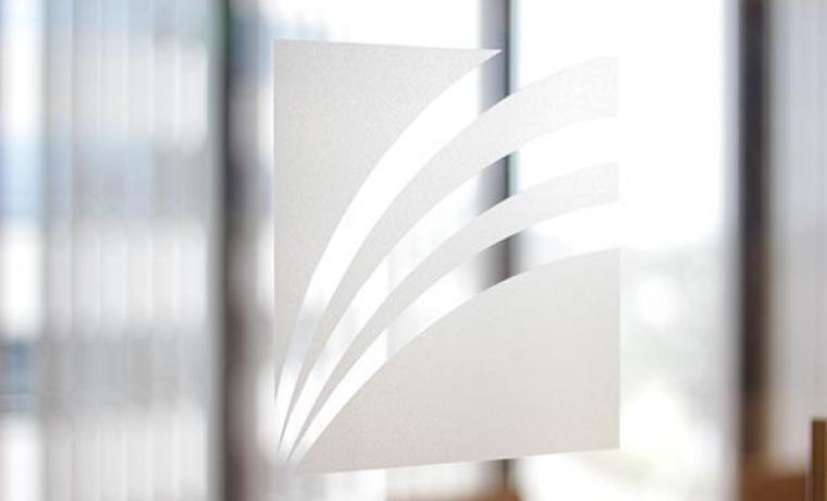 First Foundation logo on window